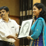 Being felicitated by NIT Trichy